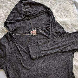 Lightweight hoodie tshirt